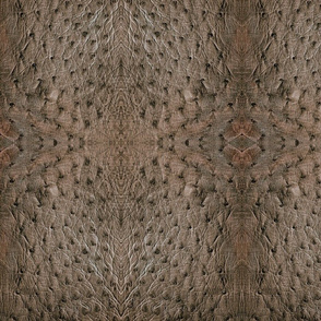 Taupe Ostrich Leather