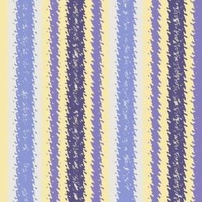 JP20 - Lemon and Violet Jagged Stripes
