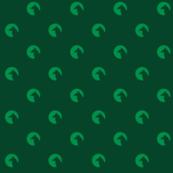 wolf, dot, circle, green, emerald, scary, animals, home decor, kids, moon, moonlight