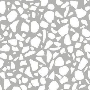 terrazzo-white on gray