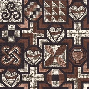 Roman Mosaic - Lullingstone