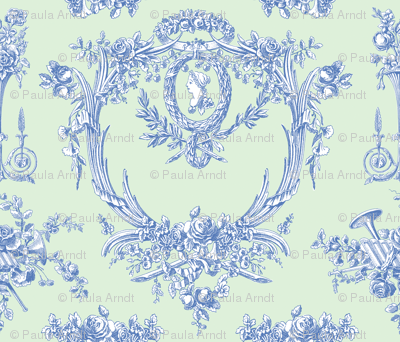 Marie Toile blueberry 4