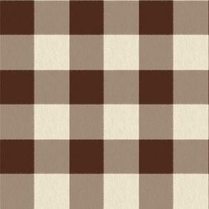 Chocolate and Cream Checks