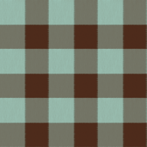 Chocolate and Mint Checks fabric by anniedeb on Spoonflower - custom fabric