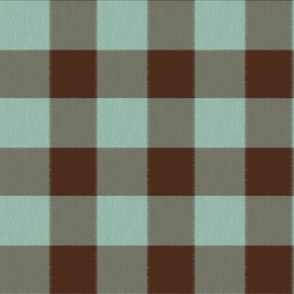 Chocolate and Mint Checks