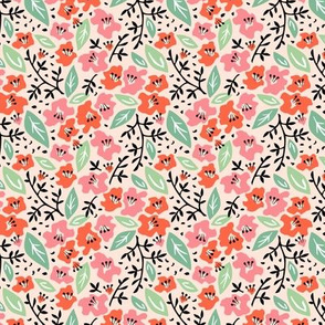 Tilly Flower Field Blush