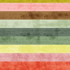 Beachy Grunge Stripes- 70's