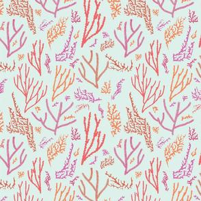 Coralia Pink and Orange Coral