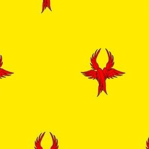 Or, seraph's wings gules