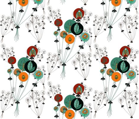 Circles of Life fabric by salzanos on Spoonflower - custom fabric