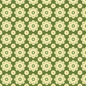 GeoBlossoms - Green