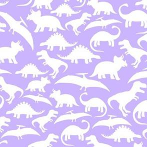 White Dinos on Lavender big