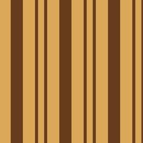 JP22 - Pecan Praline Rhythmic Stripe