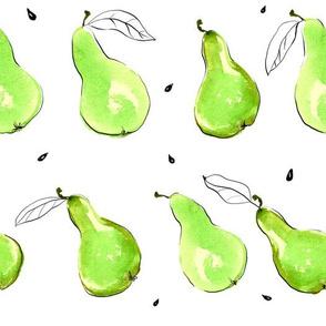 Minimalist Pears