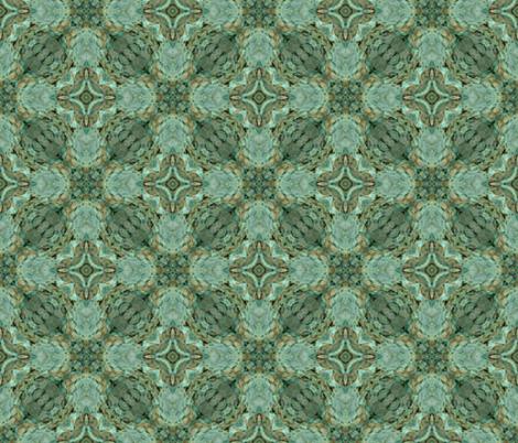 patina tartan fabric by sewingscientist on Spoonflower - custom fabric