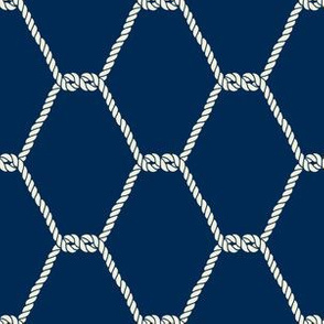 Fishing Net Nautical Pattern