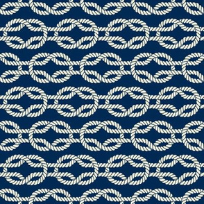 Square Knot - Nautical Rope Pattern