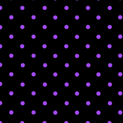 Spots Small Pur Blk fabric by karwilbedesigns on Spoonflower - custom fabric