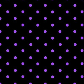 Spots Small Pur Blk