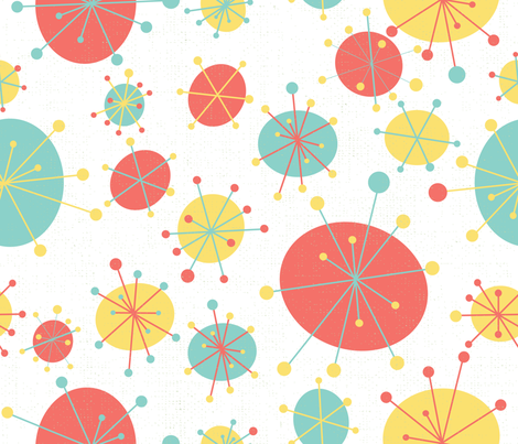 Mod Circles fabric by tiffanyaryee on Spoonflower - custom fabric