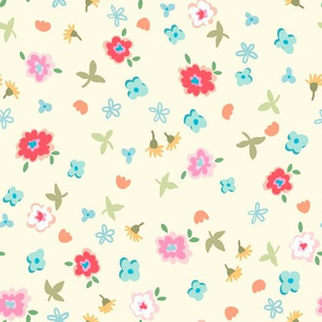 flowers - IVORY