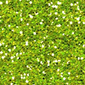 Confetti glitter bright Lime