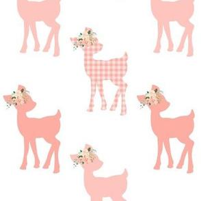Peach Fawn – Baby Deer Girls Nursery Bedding