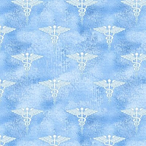 Above the Clouds, Symbol of Medicine, Caduceus