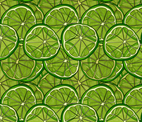 lemons fabric by avot_art on Spoonflower - custom fabric