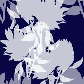 Floral - midnight