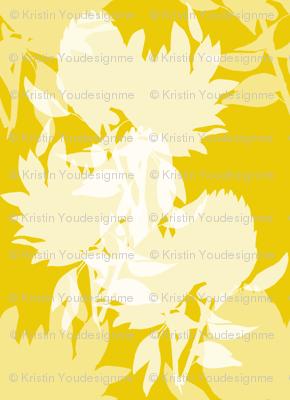 Floral - gold