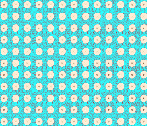 Messy Dots w/Apple fabric by kae50 on Spoonflower - custom fabric