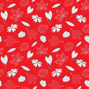 Leaves_ Red
