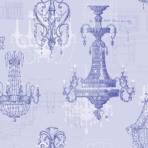 Chateau St Emilion blue violet