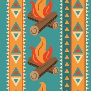 Aztec Campfire