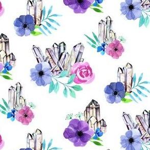 Crystal Bloom Clusters