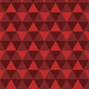 Triangles - Red