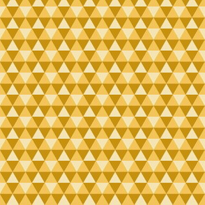 Triangles - Yellow