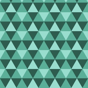 Triangles - Teal
