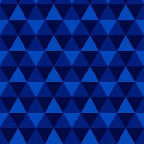 Triangles - Blue