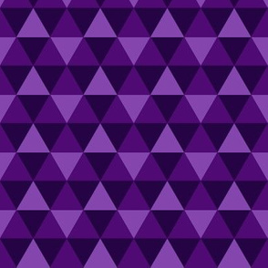Triangles - Purple