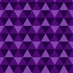 Triangles - Purple