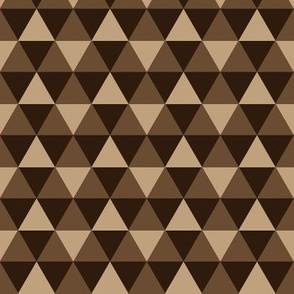 Triangles - Brown