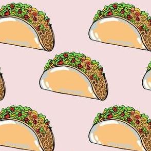 Tacos on blush