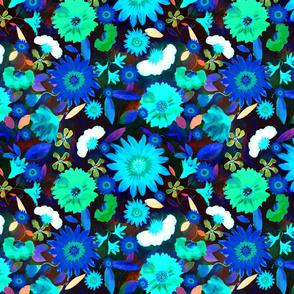 summerflowers - blue
