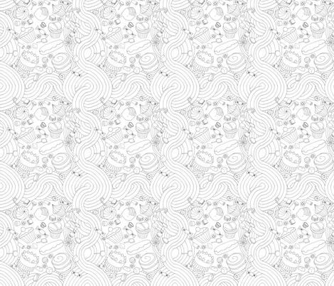 Sweet Dreams fabric by wren_2_0 on Spoonflower - custom fabric