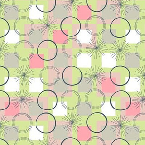Squares and Circles / Green