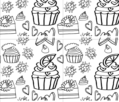 sweets fabric by cdixon on Spoonflower - custom fabric
