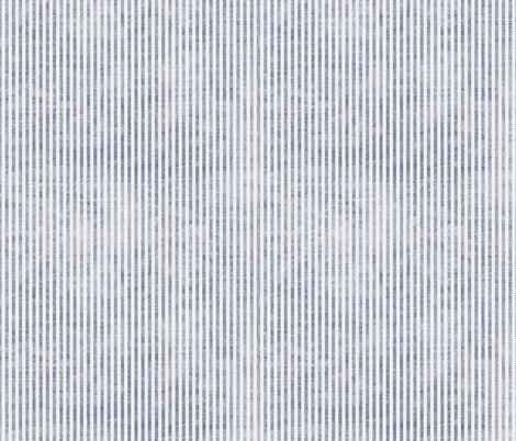 AEGEAN TICKING STRIPE fabric by holli_zollinger on Spoonflower - custom fabric