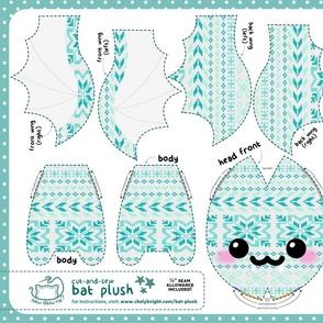 Cut & Sew Bat Plush Sweater